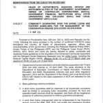 Guidelines on the Luzon Enhanced Community Quarantine